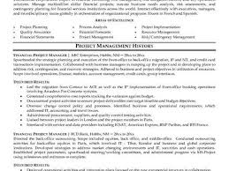 Resume Templates For Project Managers Resume Templates Project Manager Project Manager Resume Manage By