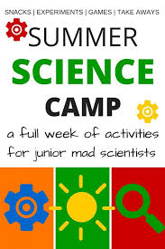 Backyard Science Games Week Long Summer Science Camp For Young Scientists Science