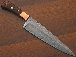 wood handle kitchen knives 12