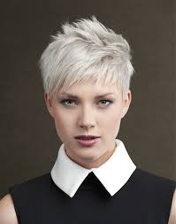 funky hairstyle for silver hair the 25 best short white hair ideas on pinterest white blonde