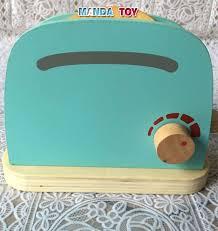 toaster kinderk che gute kinder frühstück pretend rolle holz küche toaster toys