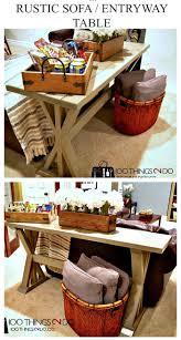entryway table ideas diy entry table ideas to make your entryway perfect u2022 diy home decor