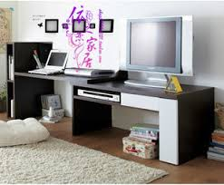 matching tv stand and computer desk bookcase desk combo combination retractable tv stand desk computer