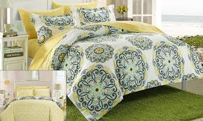reversible duvet cover set groupon goods