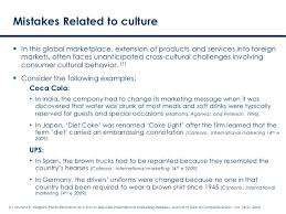 international marketing mistakes related to culture