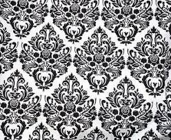 Black And Cream Damask Curtains Damask Curtains Ebay