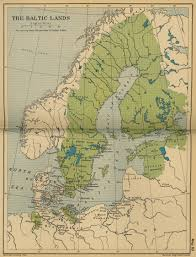 Baltic Sea Map Map Of The Baltic Lands In 1661