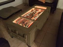Shipping Crate Coffee Table - mosin nagant crate is now a coffee table w bonus nagant m1895