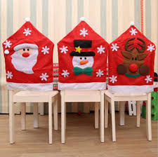 christmas chair back covers snowman christmas chair back covers canada best selling snowman