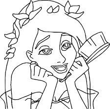 printable cartoon enchanted coloring pages printable kids