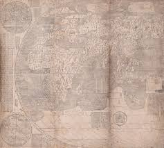 Chinese World Map by Charting Chinese History With 17th Century Jesuit World Maps