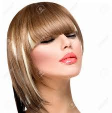 coupe de cheveux a la mode femme de mode coiffure pour cheveux frange courte coupe de