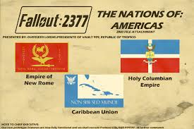 Flags Of Nations Flags Of Fallout 2377 Americas Nations Pt 4 By Lordelpresidente On
