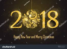 2018 happy new year banner stock illustration 722937322