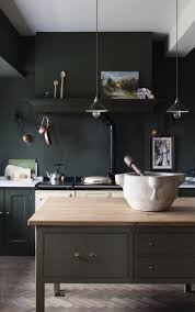 kitchen cabinets black kitchen cabinets walls hunter green by