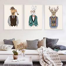 hippie home decor olivia decor decor for your home and office fashion animals giraffe zebra horse vintage art prints poster hippie wall picture canvas painting no framed office home decor