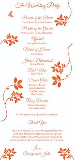 sles of wedding programs simple wedding program tolg jcmanagement co