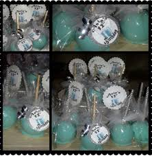 tiffany blue candy apples with bling sticks and label asia u0027s 12