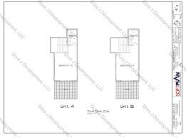 villa floor plans of corner villas surf city topsail island u0027s