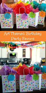 Rainbow Party Decorations Best 25 Art Party Favors Ideas On Pinterest Paint Birthday