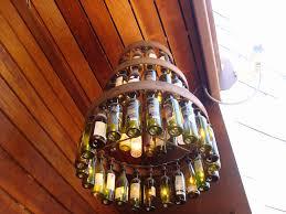Pretty Chandeliers by Wine Bottle Chandelier H C Flickr