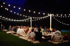 outdoor party ideas garden dinner party ideas