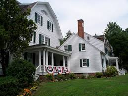 dutch colonial style historic houses
