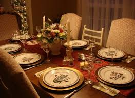 dining room table setting for christmas dining room table setting nurani org