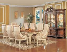 traditional formal dining room ideas square lacquered pine wood