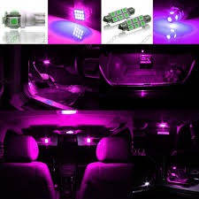 yellow jeep interior 5 x pink purple led interior light package for 2007 2014 jeep