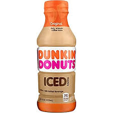 Coffee Dunkin Donut dunkin donuts original iced coffee 13 7 fl oz grocery