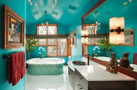 colorful bathroom ideas 25 bathrooms that beat the winter blues with a splash of color