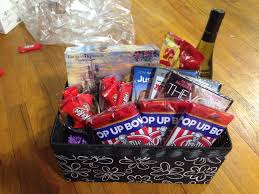 date gift basket bridal shower date gift basket includes beauty and the