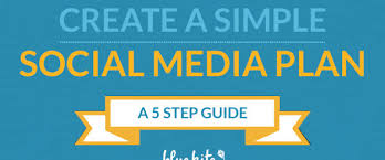 Social Media Plan 5 Steps To Creating A Simple Social Media Plan Free Ebook Blue