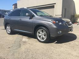 lexus van nuys used cars lexus rx 450h in california for sale used cars on buysellsearch