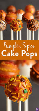 best 25 fall cake pops ideas on pumpkin cake pops