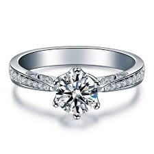 verlobungsringe wei gold brillant die besten 25 verlobungsring weißgold diamant ideen auf