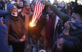 Burning A Flag Donald Trump There Must U0027consequences U0027 For Burning American Flag