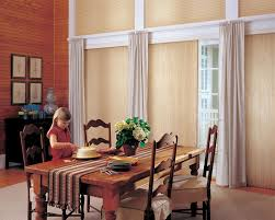 sliding glass door covering options hunter douglas vertical shades