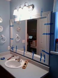 bathroom mirror frame ideas amazing bathroom mirror ideas mirror frame ideas bathroom