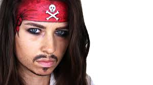maquillaje de pirata paso a paso jack sparrow halloween 2017