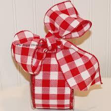 large ribbon large check ribbon christmas ribbon christmas tree ribbon