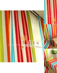 one and only colorful curtains presented in rainbow style chs094 1