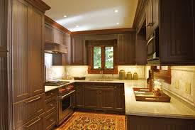 Paint Kitchen Cabinets Interesting Chocolate Brown Painted Kitchen Cabinets Image Of