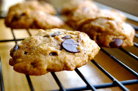 the softest pumpkin chocolate chip cookies in the history of the