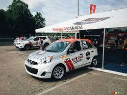 nissan micra race car nissan micra a true racear car news auto123