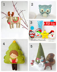5 amazing diy felt ornaments the inspiration