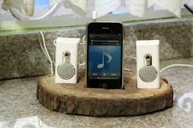 build a charging station how to build a tree trunk ipod dock 1 step with pictures