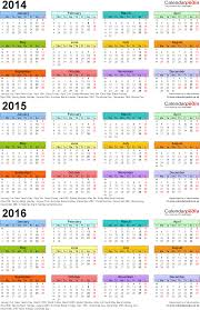 2015 2016 calendar printable 2017 and template with holidays