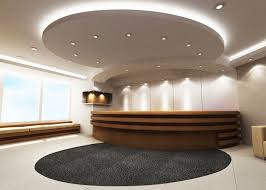 Reception Area Ceiling Design